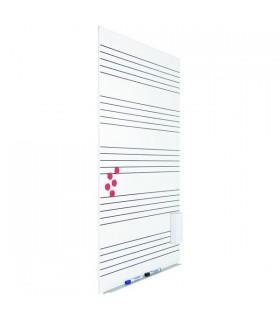 Tableau blanc sans cadre skinMusic