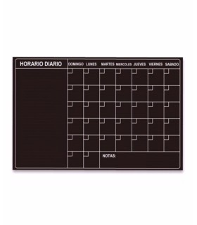 Pizarra adhesiva planning mensual