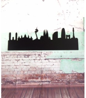 Pizarra Skyline Barcelona