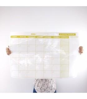 La Planification De L'Adhésif Mensuel
