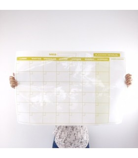 Planning  Adhesivo Mensual