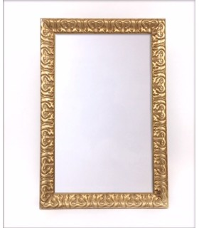 Pizarra Blanca barroca dorada