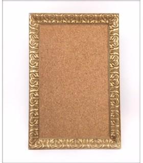 Corcho marco barroco dorado
