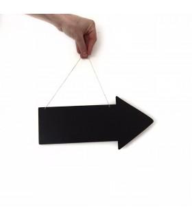 Pizarra flecha