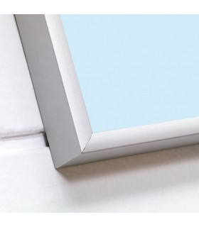 Pizarra cristal colores con marco