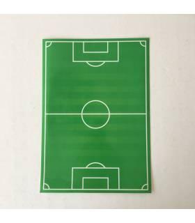 Pizarra adhesiva campo futbol
