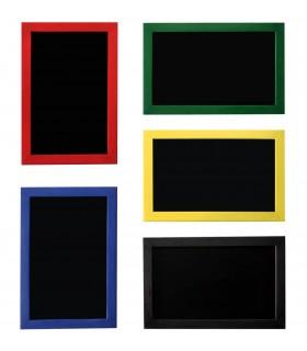 Pizarra Marco de colores superficie Verde / Negro