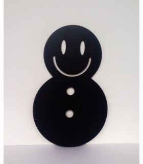 Ardoise de bonhomme de neige