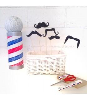 Ardoise Photocall Moustache